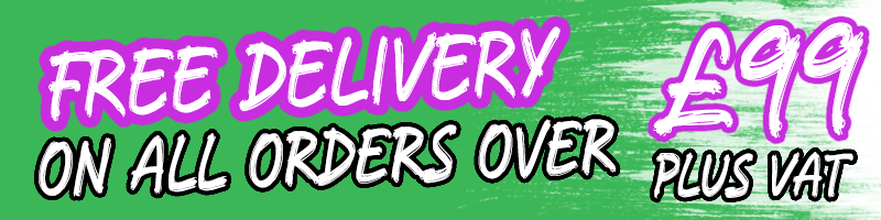 Free delivery on orders over £99 plus VAT